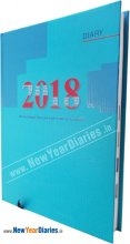 43 - N DIARY 2018 OP Month Cut HB G 272-273 #Executive-Diary