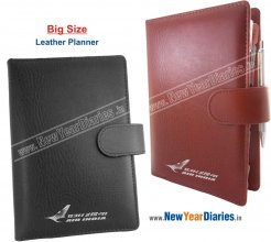 ORG 26 PR (BIG) Ultima Leather Business Planner #Leather-planner