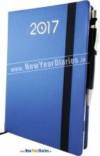 34 - A5 LF ELASTIC Month Cut Planner DIARY 2018 #diary-with-pen