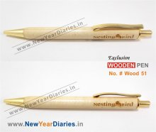 NYD Wooden Pen 51 #Pure-w