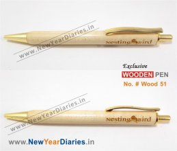 NYD Wooden Pen 51 #Pure-wood-pens
