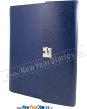 RPU 43A 3-Folds Blue PU Leather Planner #PU_Business Planner