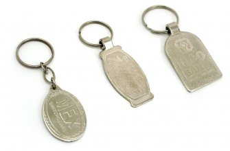 NICKEL KEYCHAIN 3