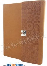 RPU 43 3-Folds Tenn PU Leather Planner #Premium_Business Planner