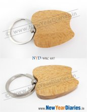 NYD Wooden Keychain 487 #wood-key-chains
