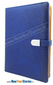 Oxford Blue Diary with Po