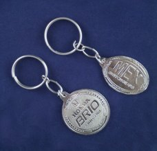 CUSTOMISED NICKEL KEYCHAIN 1