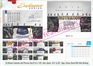 TC 011 Motivational Corporate Table Calendar 2019
