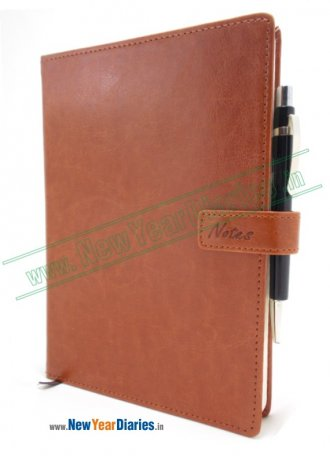 421 NB Creata PU Magnet Lock A-5 Diary #PU-Leather-Diary