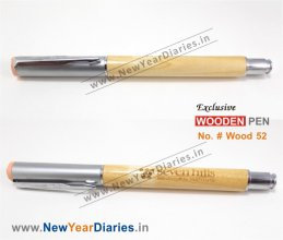 NYD Wooden Pen 52 #Pure-wooden-gift-pen