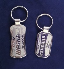 CHROME KEYCHAIN 1