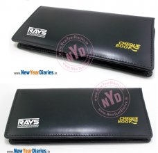 RNG 1 CHEQUE BOOK COVER ECO VALVET CHAIN LOCKING