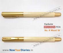 NYD Wooden Pen 54 #Pure-w