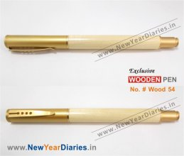 NYD Wooden Pen 54 #Pure-wooden-pens